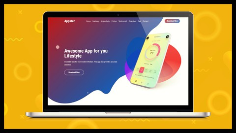 Create Awesome App Landing Page with Wordpress Elementor
